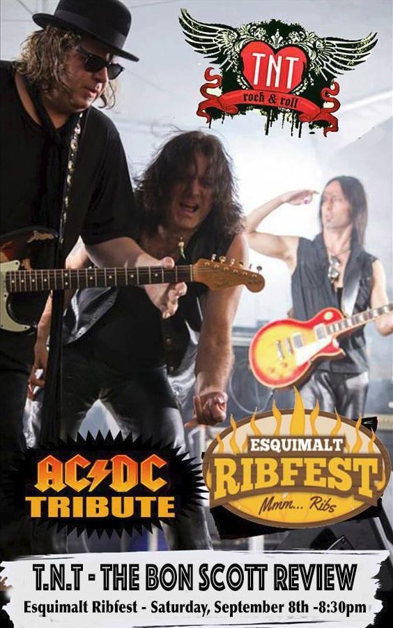 TNT Bon Scott Review at Esquimalt Ribfest
